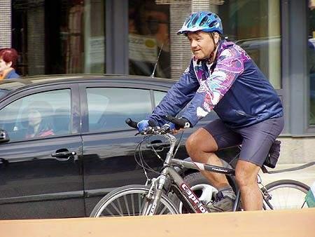 Szekszárdon a Kerékpáros Békenagykövet
