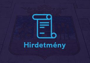 HIRDETMÉNY A Társadalmi egyeztetésről 2020.06.25-ig