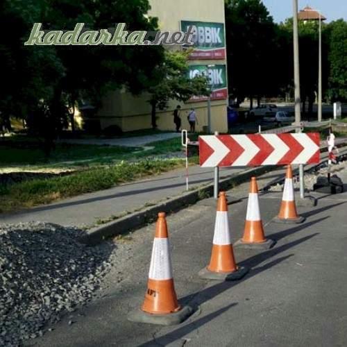 Folytatódnak az útfelújítások Szekszárdon