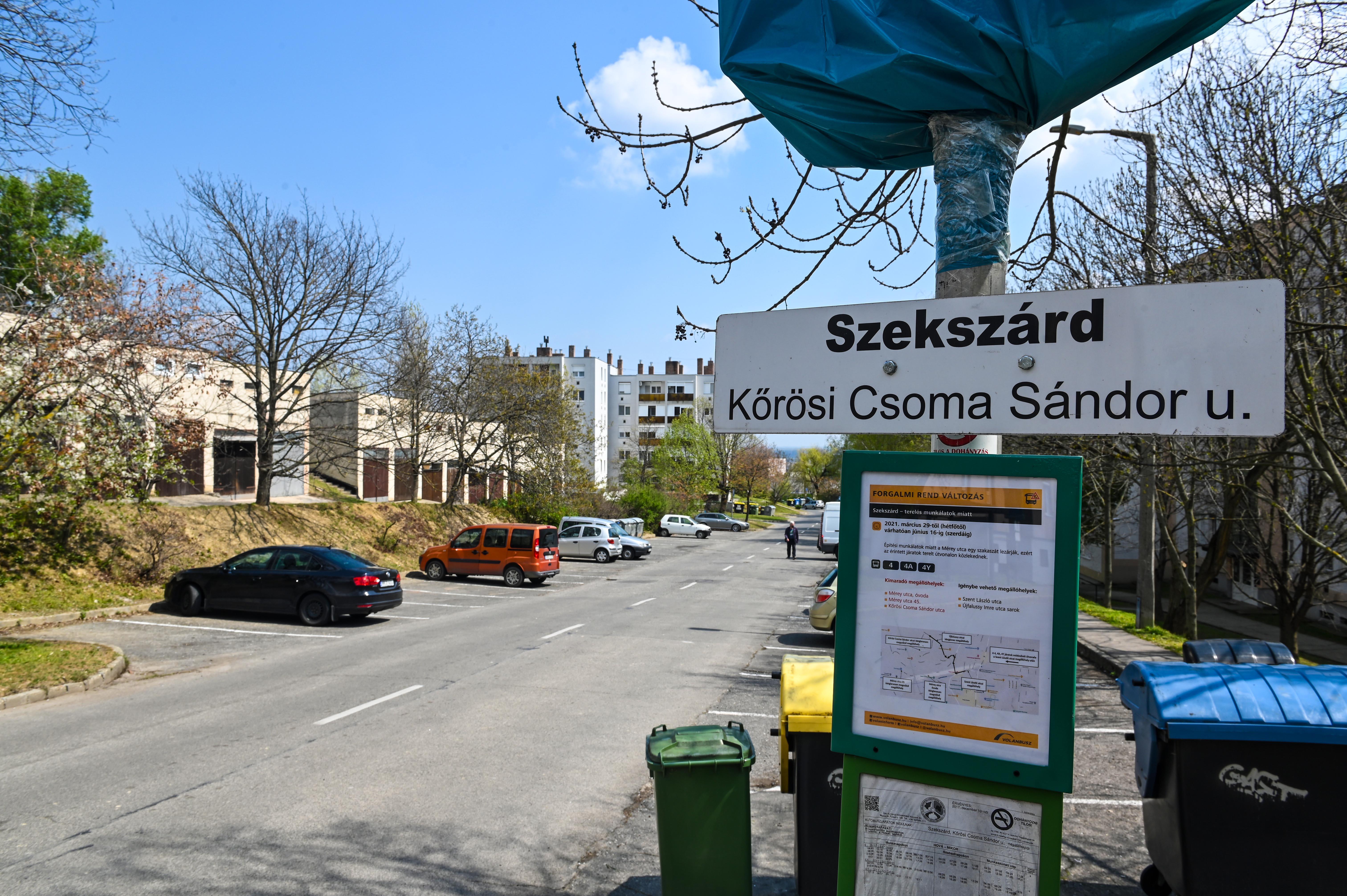Hétfőtől újra jár a busz a Kőrösi utcában